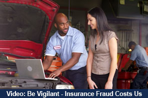 Be Vigilant - Insurance Fraud Costs Us All